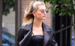 Hailey Baldwin, New York fashion week,
