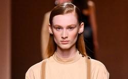 Model, catwalk, hermes show, Runway, Spring