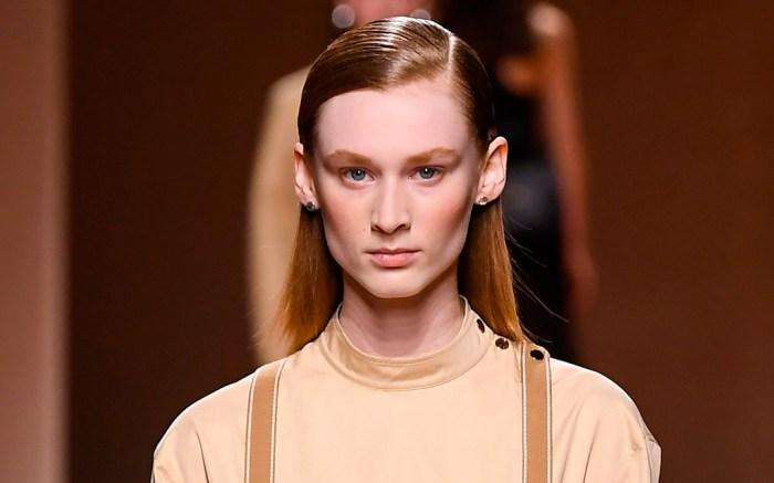 Model, catwalk, hermes show, Runway, Spring Summer 2020, Paris Fashion Week, France, hermes