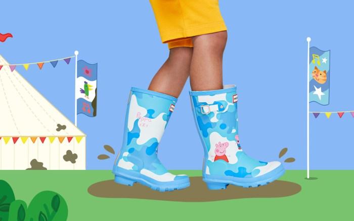 Hunter Peppa Pig Kids Boots