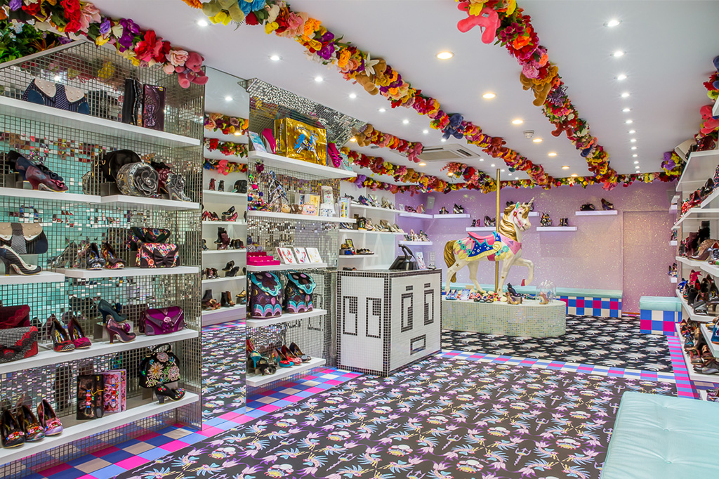 irregular choice store, mexico city