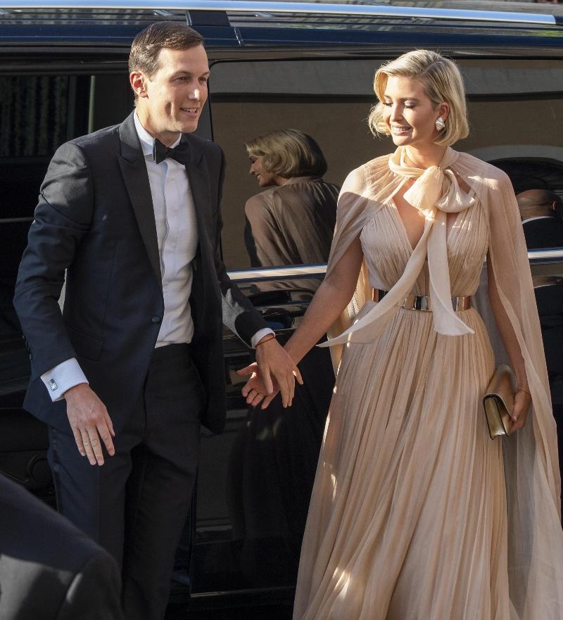 ivanka trump, jared kushner, misha nonoo wedding, wedding, rome, dress, tuxedo