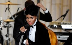 Janelle Monáe, spring 2020, runway, nyfw,