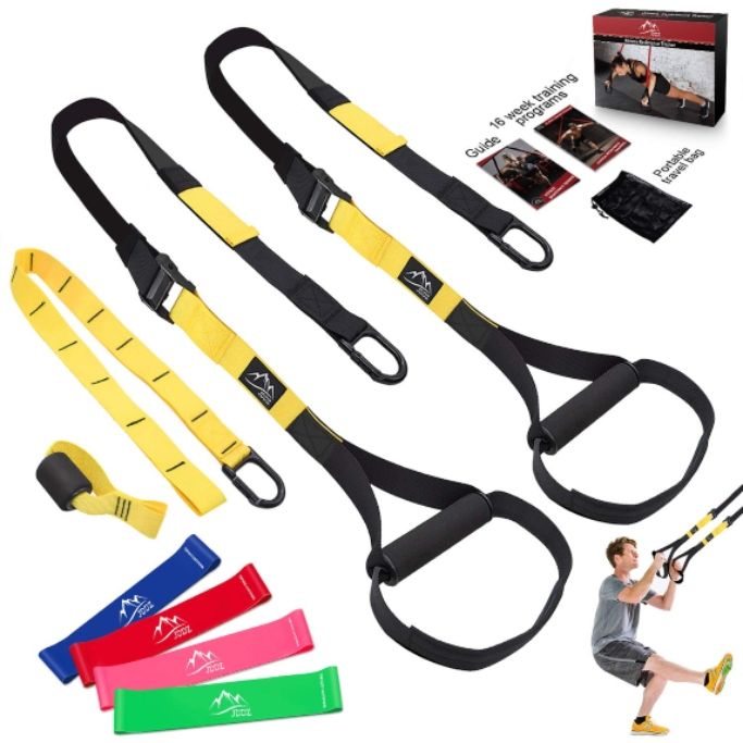 JDDZ bodyweight resistance Training Straps