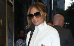 Jennifer Lopez, New York city, late