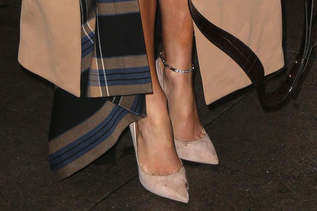 Jennifer Lopez, J-lo, Good Morning America, jimmy Choo Anouk, nude pumps, celebrity shoe style, September 2019, nyc