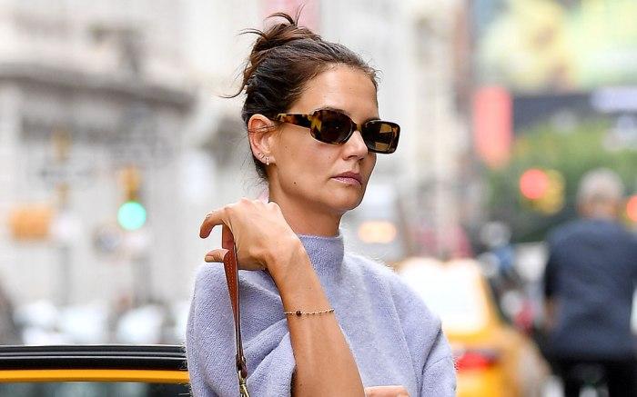 Katie Holmes, celebrity style, nyc,