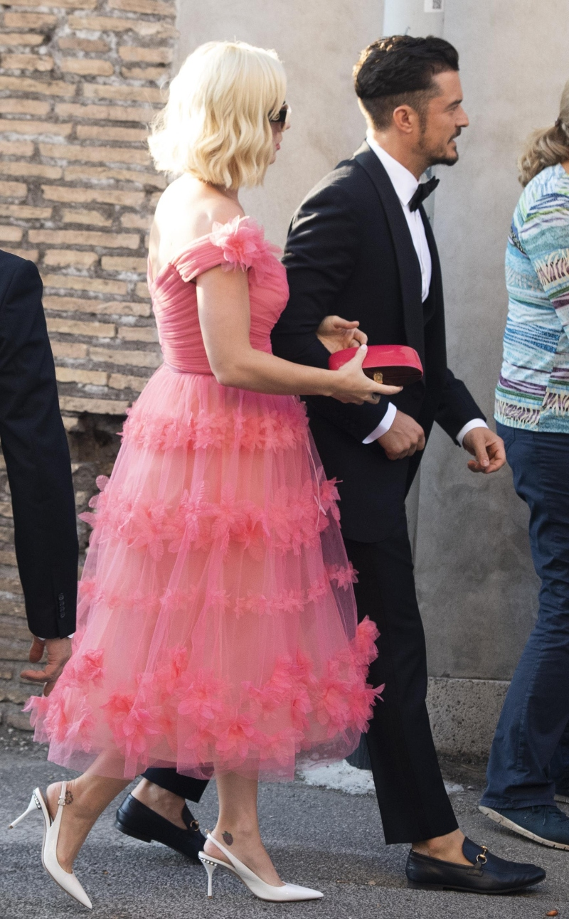 katy perry, orlando bloom, misha nonoo, michael hess, wedding