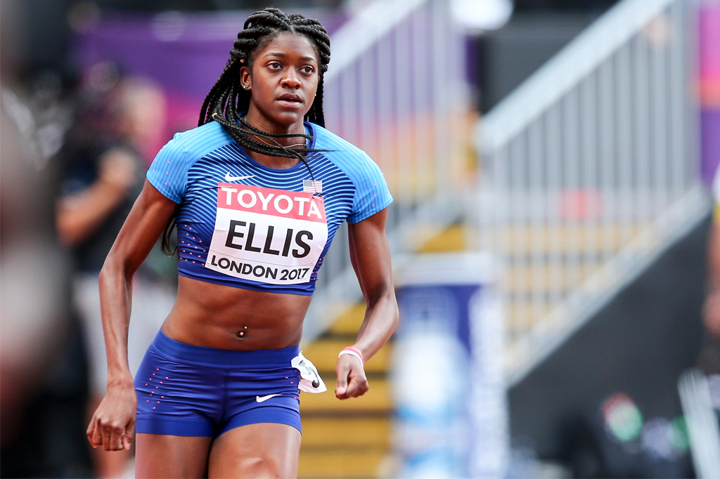 Kendall Ellis 2017 IAAF World Championships