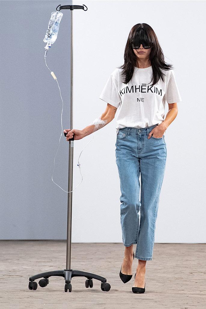 Kimhekim, spring '20, Paris Fashion Week.