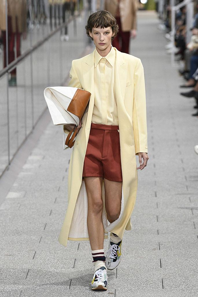 Lacoste spring '20, Paris Fashion Week.