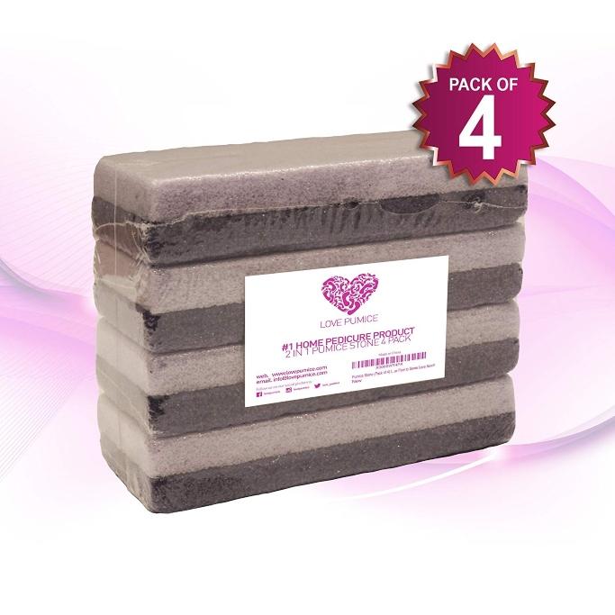 love pumice pumice stone four pack