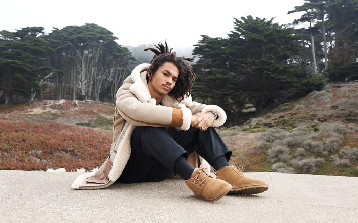 Luka Sabbat stars in Ugg's men's Neumel Nation campaign.