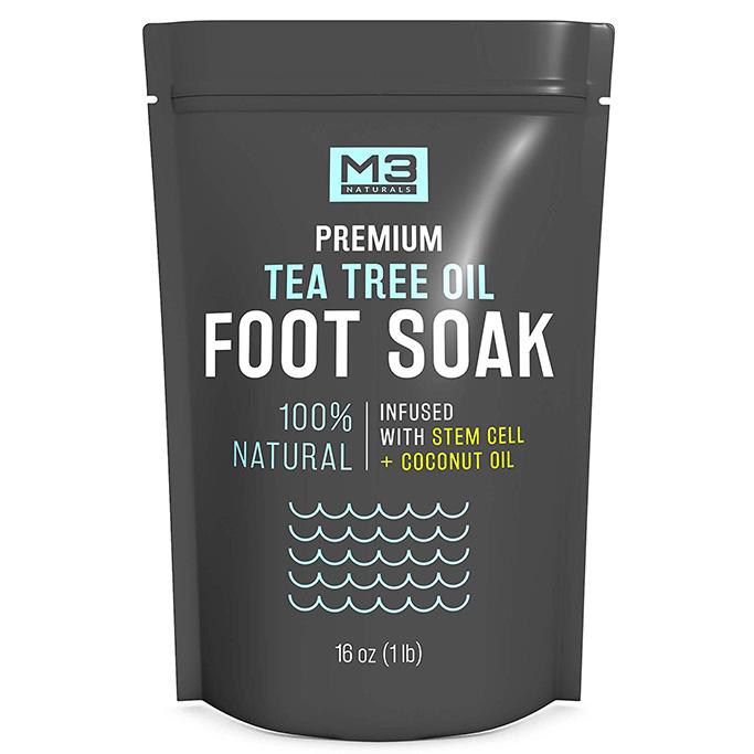 M3 Naturals Tea Tree Oil Foot Soak