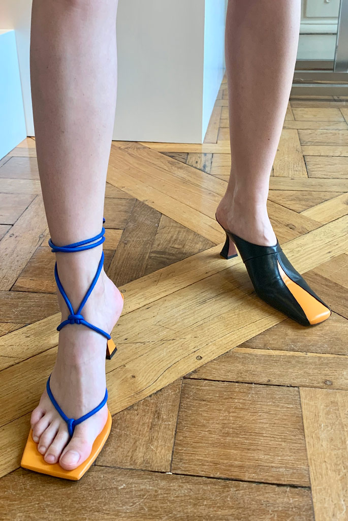 Manu Atelier spring '20, Paris Fashion Week.