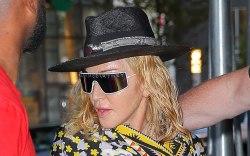 Madonna, celebrity style, New York city,