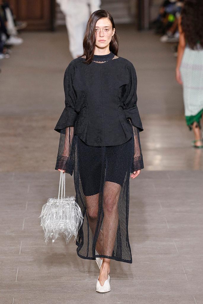 Mame Kurogouchi, spring '20, Paris Fashion Week.