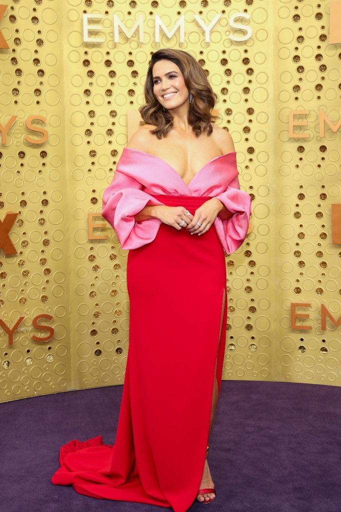 mandy moore, 2019 Primetime Emmy Awards Red Carpet Arrivals, 2019 Primetime Emmy Awards, emmys, tv, red carpet
