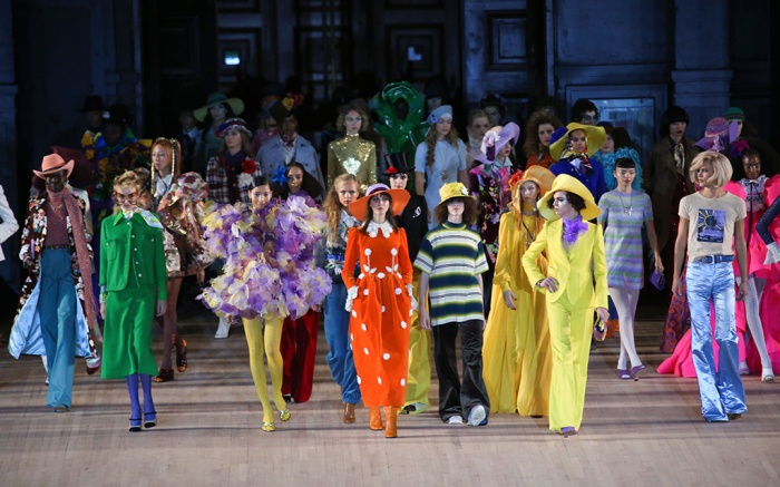 Models on the catwalkMarc Jacobs show, Runway, Spring Summer 2020, New York Fashion Week, USA - 11 Sep 2019