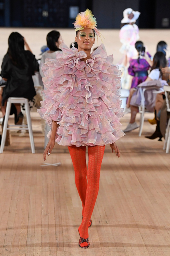 Model on the catwalkMarc Jacobs show, Runway, Spring Summer 2020, New York Fashion Week, USA - 11 Sep 2019