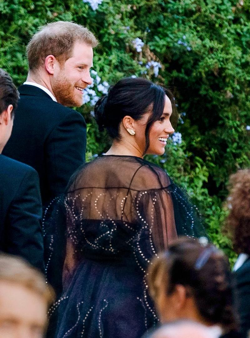 prince harry, meghan markle, wedding, italy, rome, misha nono, valentino dress