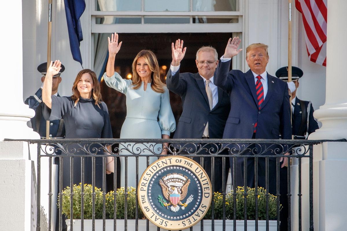 white house, president, first lady, donald trump, melania trump, Prime Minister of Australia