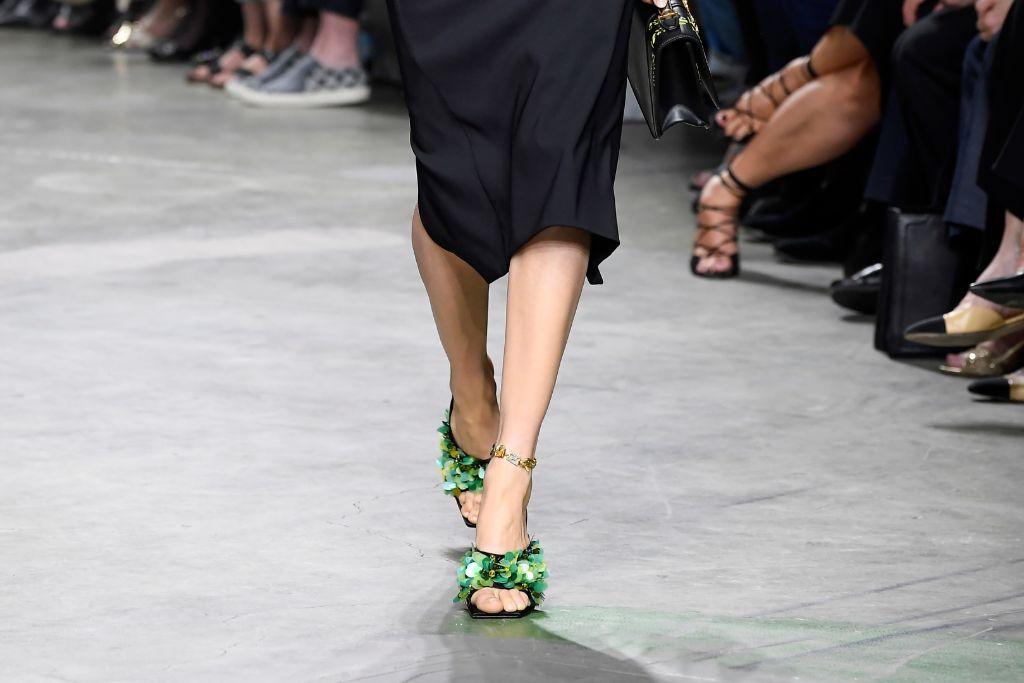top, 10, shoes, milan, fashion, week, spring, 2020, versace