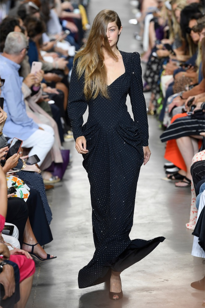 Gigi Hadid, Michael kors, New York fashion week, runway, celebrity style, catwalk, supermodel