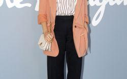 Elizabeth Olsen at Salvatore Ferragamo Spring 2020