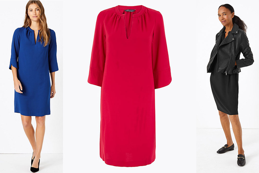 Smart Works dress at Marks & Spencer, $35.