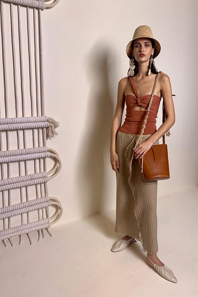 Nanushka spring '20, Paris Fashion Week.