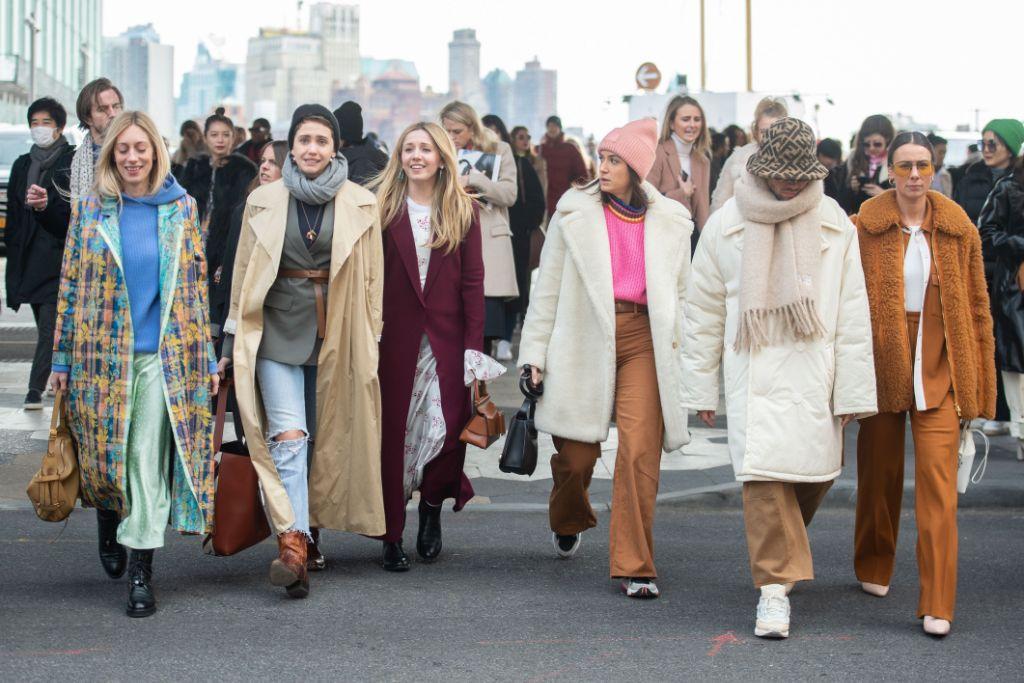 new, york, fashion, week, nyfw, crowds, street, style