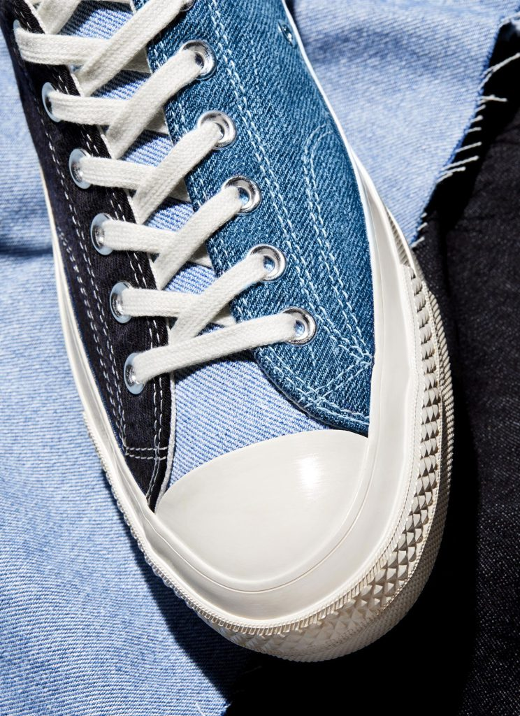 Converse Renew Tri Panel Denim Chuck 70 Collection