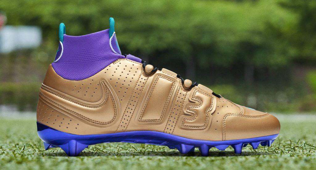 Nike Vapor Untouchable Pro 3 OBJ Uptempo Cleat 'Grape'