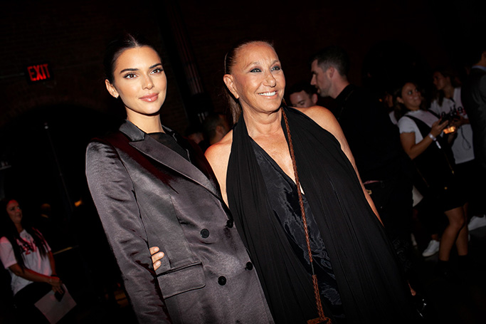 Kendall Jenner, Donna Karan at the DKNY 30th Anniversary Party, NYFW after parties, spring summer 2020