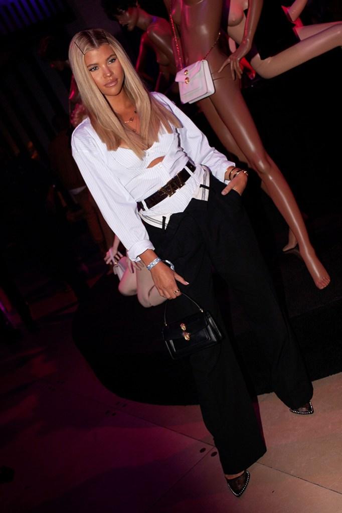 Sofia Richie at the Alexander Wang x BVLGARI party, nyfw parties, spring summer 2020
