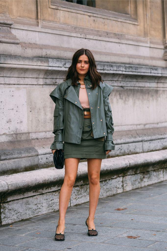Paola Alberdi, Bottega Veneta heels, pfw, spring 2020, paris fashion week, street style, streetstyle, trendy, shoes