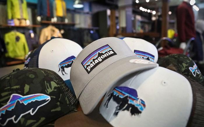 Patagonia logo hats