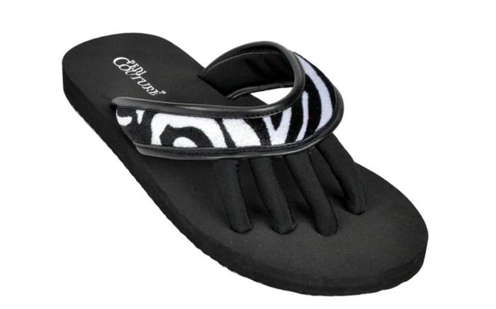 pedi couture slippers