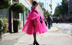 fashion, week, spring, 2020, hot, pink,