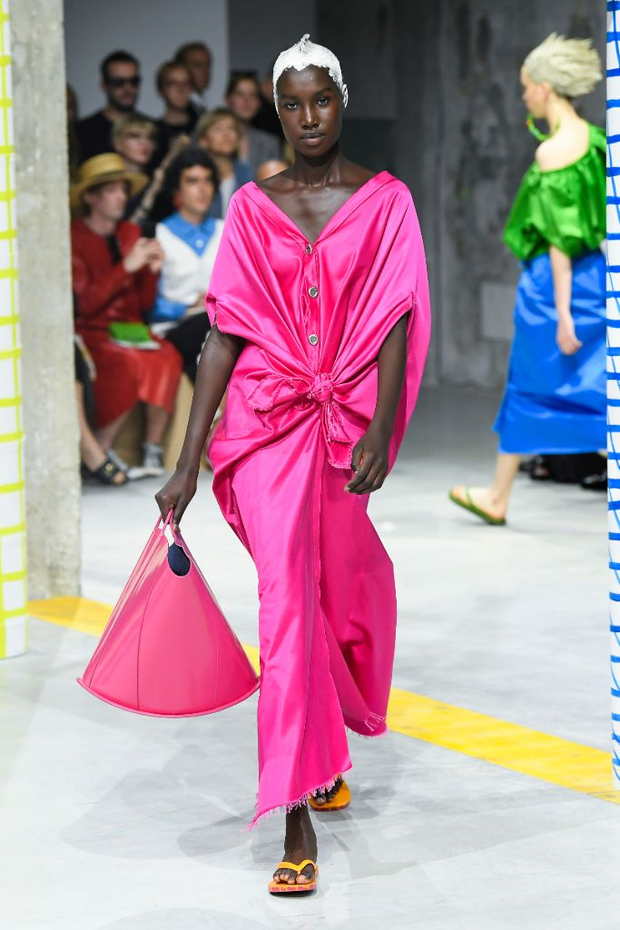 hot, pink, spring, 2020, milan, fashion, week, marni