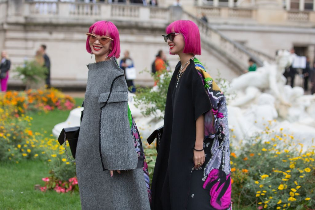 hot, pink, spring, 2020, trend, paris, fashion, week