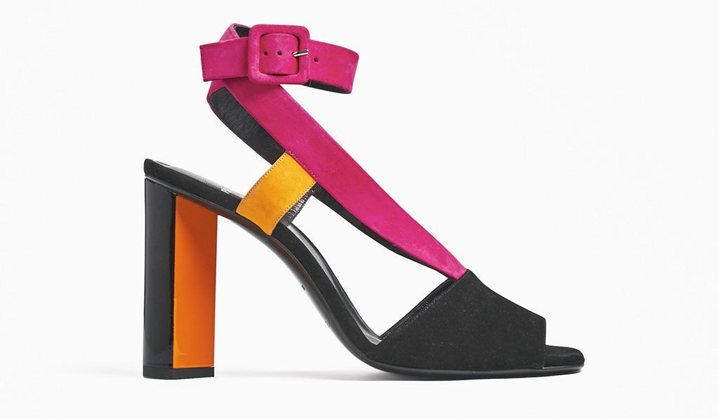Pierre Hardy, sandal, heels, color block, spring 2020