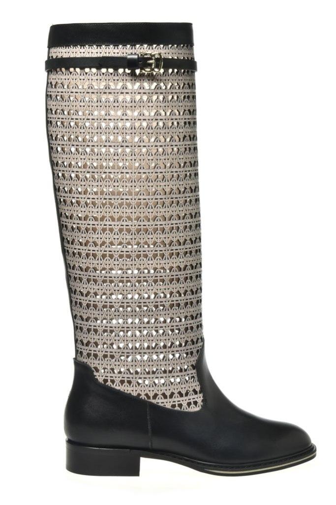 Pollini, equestrian boots, spring 2020, mfw