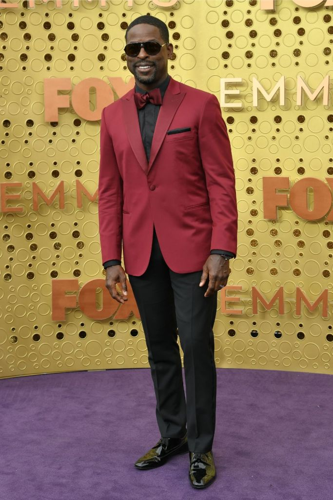 Sterling K. Brown, emmy awards, red carpet, 2019, fox