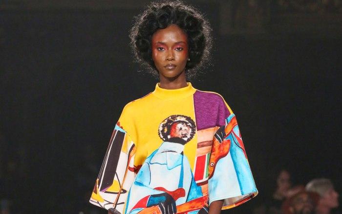 Pyer Moss, spring 2020, runway, New York fashion week