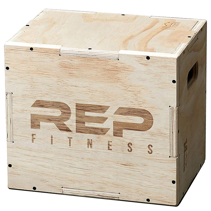 rep fitness, boxes, Wood Plyometric Box