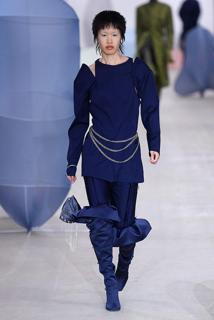 Richard Malone X Malone Souliers, London Fashion Week, spring '20.