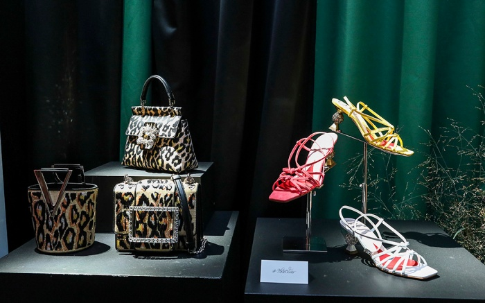 roger Vivier, shoes, Press Day at Hotel Vivier during Paris Fashion Week Womenswear Spring Summer 2020 on September 26, 2019 in Paris, France