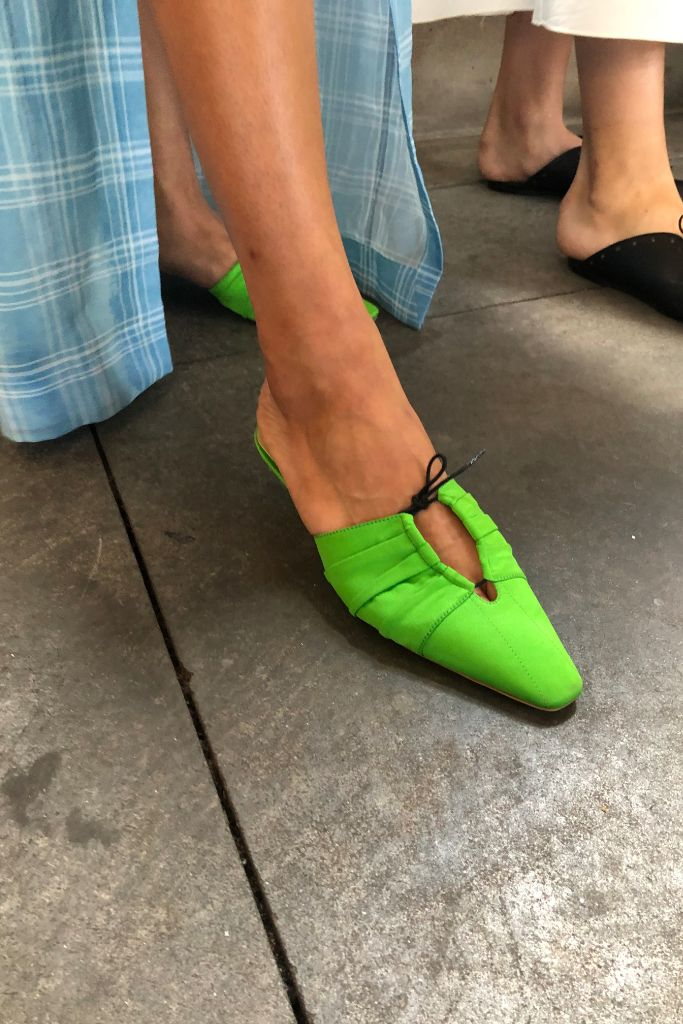 top, 10, shoes, nyfw, rosie, assoulin, spring, 2020